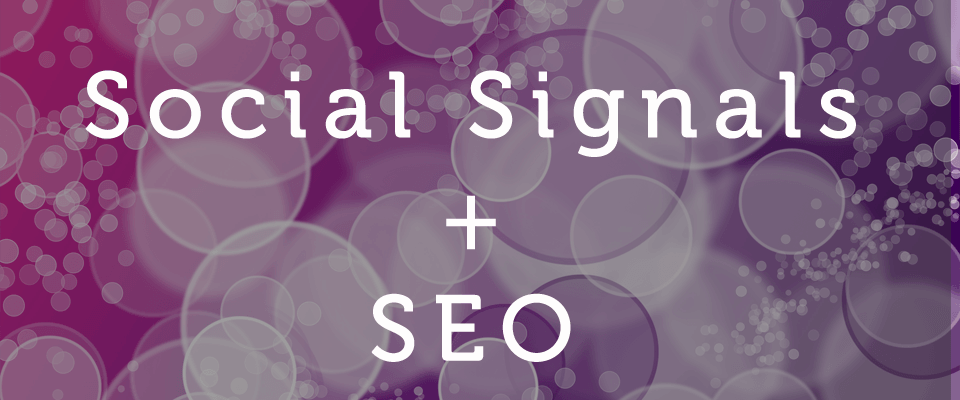 Social media signals increase search engine exposure and rankings